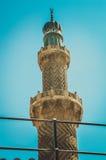 老尖塔清真寺 免版税库存照片