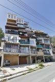 老居民住房在帕福斯,塞浦路斯 免版税库存照片