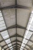 老屋顶保护 库存照片