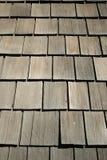 老屋顶木头 免版税库存照片
