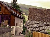 奥地利阿尔卑斯Mauterndorf 免版税库存照片