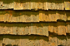 老屋顶纹理难看的东西背景 库存照片