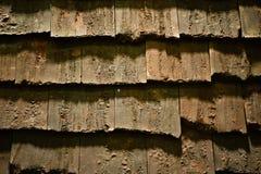 老屋顶纹理难看的东西背景 免版税库存图片