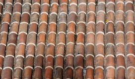 老屋顶 库存图片