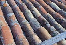 老屋顶 免版税库存图片
