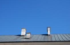 老屋顶 库存照片