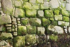 老岩石背景  免版税库存图片