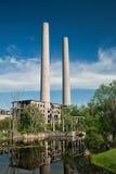 老工业区 免版税库存照片