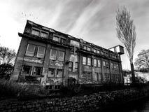 老工厂厂房在捷克 库存照片