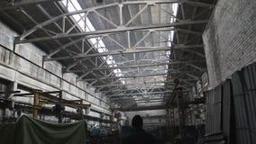老工厂和制造业 股票视频