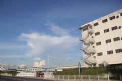 老工厂在深圳 库存照片