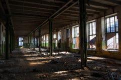 老工厂的废墟 库存图片