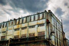 老工厂 免版税库存照片
