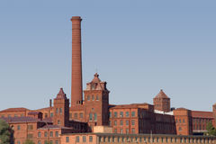 老工厂 库存图片