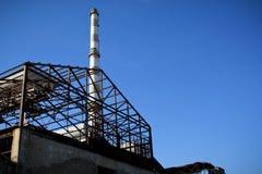 老工厂 免版税库存图片