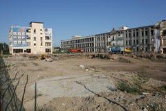 老工厂Proletarul在巴克乌 免版税库存照片