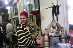 老市场在开罗 库存图片