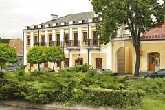 老市场在Wlodawa 波兰 库存图片