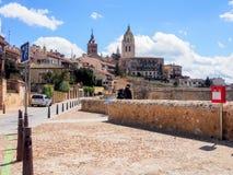 老市塞戈维亚,西班牙 免版税库存图片