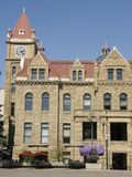 老市政厅在卡尔加里,亚伯大 库存图片