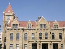 老市政厅在卡尔加里,亚伯大 免版税库存照片