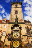 老市政厅在布拉格 免版税库存照片