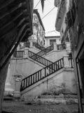 老市的一个古老部分阿尔及利亚,大约叫的casbah (kasaba) 老城市是122米(400 f 免版税库存图片