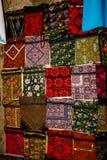 老市的义卖市场的颜色耶路撒冷在以色列 免版税库存照片