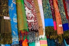 老市的义卖市场的颜色耶路撒冷在以色列 库存图片