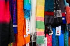 老市的义卖市场的颜色耶路撒冷在以色列 免版税图库摄影