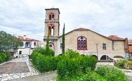 老市的圣洁访问教会特里卡拉色萨利希腊 图库摄影