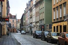 老市的秀丽波兹南,波兰 免版税库存图片