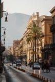 老市的街道巴勒莫 库存图片