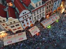 老布拉格方形城镇 免版税库存图片
