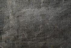 老布料纹理宏指令背景 免版税库存图片