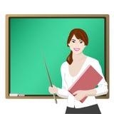 老师 免版税图库摄影