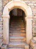 老希腊市古老废墟以弗所 库存照片