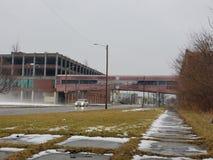 老帕卡德厂在底特律 免版税库存图片