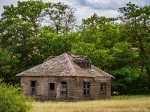 老平房建筑 库存照片