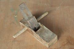 老平面木头 库存照片