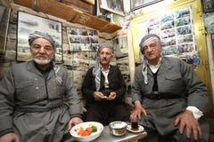 老库尔德人的人 免版税库存照片