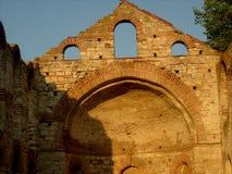 老废墟在保加利亚 库存图片