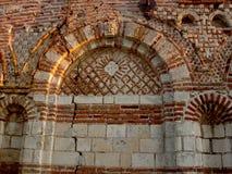 老废墟教会 免版税库存照片
