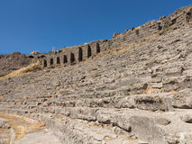 老废墟的细节在Pergamum的 免版税图库摄影