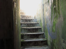 老废墟 库存图片