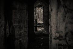 老废墟 免版税库存图片