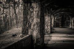 老废墟 免版税库存照片