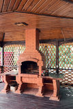 老庭院加热器 格栅能用为BBQ 免版税图库摄影