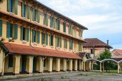 老建筑学在大叻,越南 库存图片