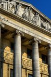 老建筑学的储蓄图象在诺丁汉,英国 库存图片